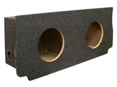 Atrend Dual 10 Inch Sealed Carpeted Subwoofer Enclosure - A216-10CP