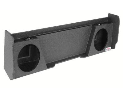 Atrend Dual 10 Inch Sealed Spraylinered Subwoofer Enclosure - A144-10