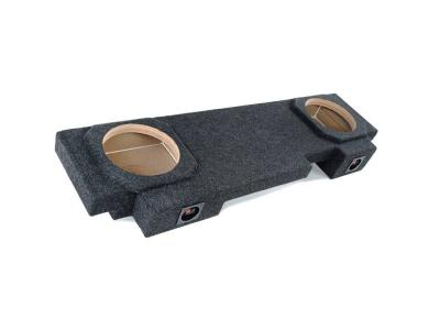 Atrend Dual 10 Inch Sealed Carpeted Subwoofer Enclosure - A192-10CP