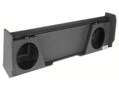 Atrend Dual 10 Inch Sealed Spraylinered Subwoofer Enclosure - A142-10