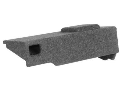 Atrend Single 10 Inch Vented Carpeted Subwoofer Enclosure - A131-10CPV
