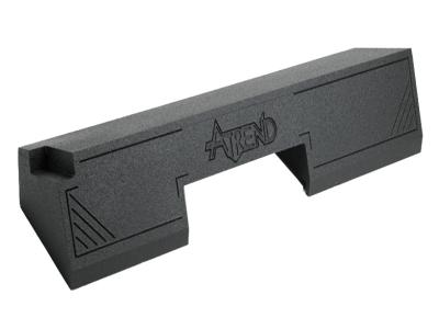 Atrend Dual 12 Inch Sealed Spraylinered Subwoofer Enclosure - A102-12