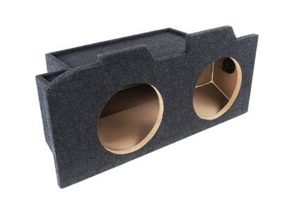 Atrend Dual 10 Inch Sealed Carpeted Subwoofer Enclosure - 10CB