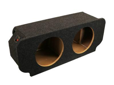 Atrend Dual 12 Inch Sealed Carpeted Subwoofer Enclosure - CD-12CB