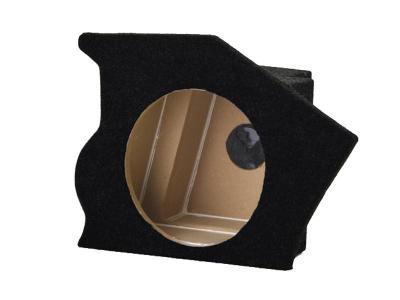 Atrend Single 10 Inch  Black Subwoofer Enclosure - CF9302B