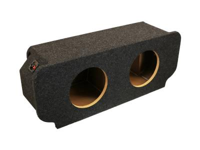 Atrend Dual 10 Inch Sealed Carpeted Subwoofer Enclosure - CD-10CB