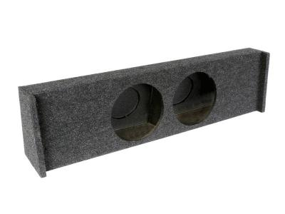 Atrend Dual 10 Inch Sealed Carpeted Subwoofer Enclosure - A362-10CP