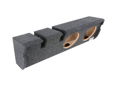 Atrend Dual 10 Inch Sealed Carpeted Subwoofer Enclosure - A352-10CP