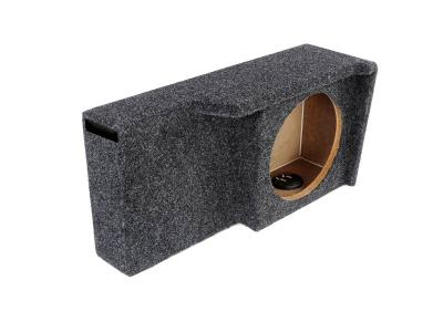 Atrend Single 10 Inch Vented Carpeted Subwoofer Enclosure - A371-10CPV