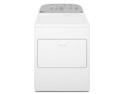 """29"""" Whirlpool 7.0 cu. ft. HE Dryer with Steam Refresh Cycle - WGD49STBW"""