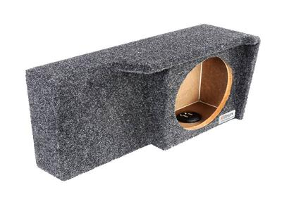 Atrend Single 10 Inch Sealed Carpeted Subwoofer Enclosure - A371-10CP