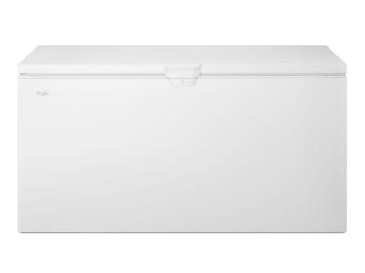 """67"""" Whirlpool 22 Cu. Ft. Chest Freezer With Extra-Large Capacity - WZC3122DW"""