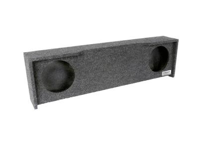 Atrend Dual 10 Inch Sealed Carpeted Subwoofer Enclosure - A332-10CP
