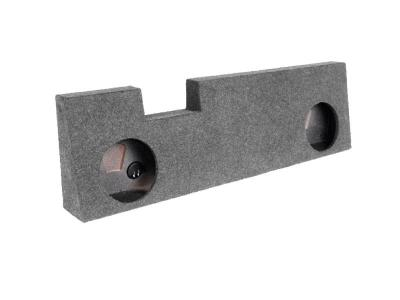 Atrend Dual 10 Inch Sealed Carpeted Subwoofer Enclosure - A393-10CP