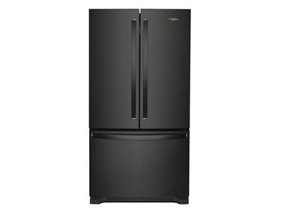 """36"""" Whirlpool Counter Depth French Door Refrigerator - 20 cu. ft. - WRF540CWHB"""