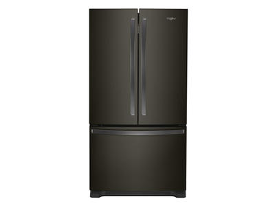 """36"""" Whirlpool Counter Depth French Door Refrigerator - 20 cu. ft. - WRF540CWHV"""