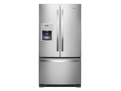 "36"" Whirlpool 20 Cu. Ft. French Door Refrigerator - WRF550CDHZ"
