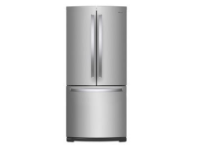 "30"" Whirlpool French Door Refrigerator - 20 cu. ft. - WRF560SMHZ"