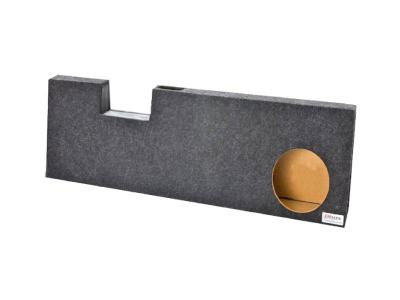Atrend Single 10 Inch Vented Carpeted Subwoofer Enclosure - A391-10CPV