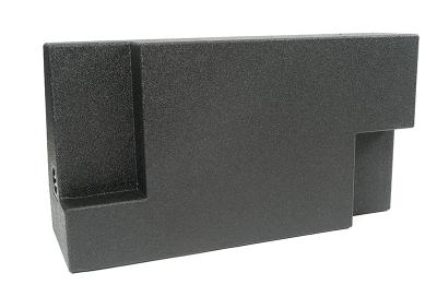 Atrend Dual 10 Inch Sealed Spraylinered Subwoofer Enclosure - A702-10