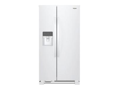 """33"""" Whirlpool Side-by-Side Refrigerator - 21 cu. ft. - WRS331SDHW"""
