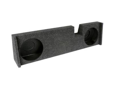 Atrend Dual 10 Inch Sealed Carpeted Subwoofer Enclosure - A342-10CP