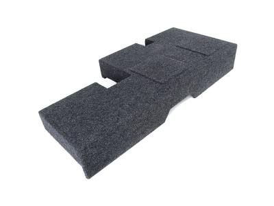 Atrend Dual 12 Inch Sealed Carpeted Subwoofer Enclosure - A602-12CP