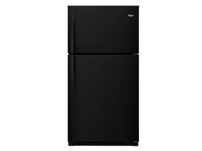 "33"" Whirlpool® Top-Freezer Refrigerator with Optional EZ Connect Icemaker Kit - WRT541SZDB"