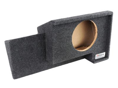 Atrend Single 10 Inch Sealed Carpeted Subwoofer Enclosure - A101-10CP