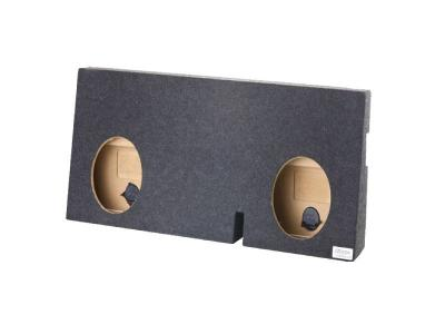 Atrend Dual 10 Inch Sealed Carpeted Subwoofer Enclosure - A622-10CP
