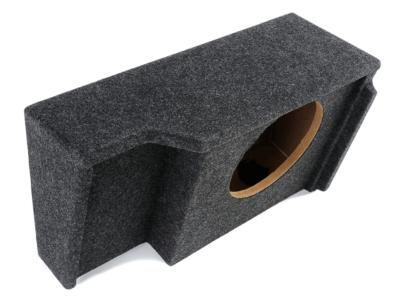 Atrend Single 12 Inch Sealed Carpeted Subwoofer Enclosure - A151-12CP