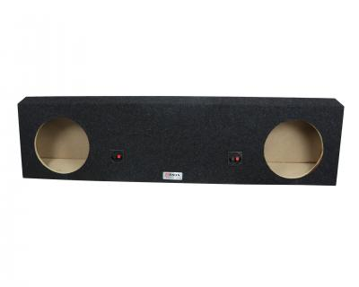Atrend Dual 10 Inch Sealed Carpeted Subwoofer Enclosure - A606-10CP