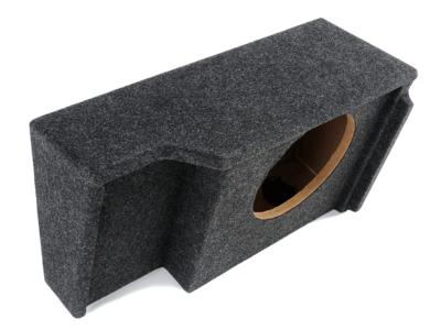 Atrend Single 10 Inch Sealed Carpeted Subwoofer Enclosure - A151-10CP