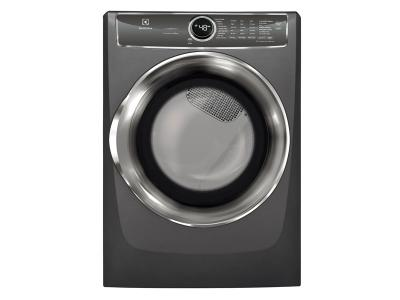 """27"""" Electrolux 8.0 Cu. Ft. Front Load Perfect Steam Electric Dryer With Instant Refresh And 9 Cycles - EFMC627UTT"""