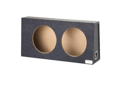 """Atrend Dual 12"""" Sealed Carpeted Subwoofer Enclosure  - A712-12CP"""