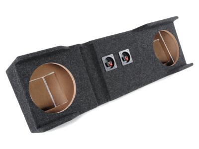 Atrend Dual 10 Inch Sealed Carpeted Subwoofer Enclosure - A162-10CP