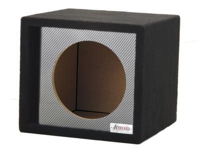 Atrend Black Carbon Fiber 10 Single Vented Black Carbon Fiber-10SVR