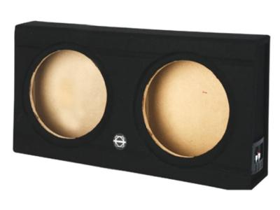 Bassworx Shallow Woofer Series Dual 10 Inch Sealed Subwoofer Enclosure - SWS210