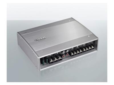 Clarion 4/3/2 Channel Class D Amplifier - XC6440