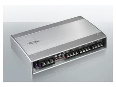 Clarion 6/5/4/3 Channel Class D Amplifier - XC6640