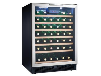 """24"""" Danby Designer 50 Bottle Wine Cooler - DWC508BLS"""