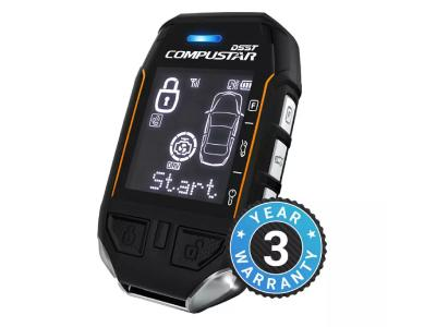 Compustar 2-Way LCD 3-Mile Range Remote Kit - RF-P2WT11-SS