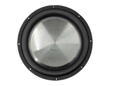 Clarion 1000 W Max 12 Inch Dual 4-Ohm Voice Coil Shallow-Mount Subwoofer - WF3030D