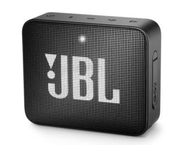 JBL Portable Bluetooth Speaker in Black - JBLGO2BLKAM