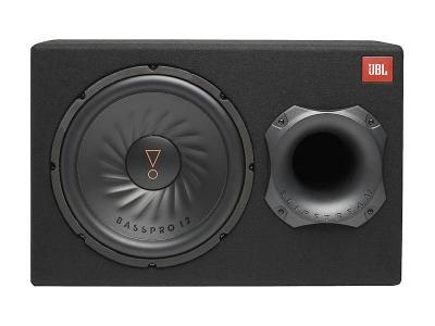 JBL Ported Powered Subwoofer with 12 Inch Sub and 150-Watt Amp - SUBBP12AM