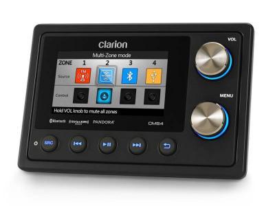 Clarion Black Box Digital Media Receiver with Commander - CMS4