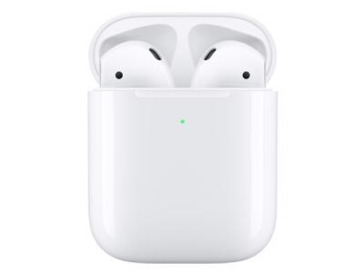 Apple 2nd Gen True Wireless AirPods With Wireless Charging Case In White - MRXJ2AM/A