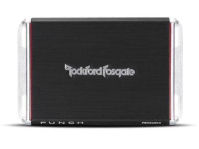 Rockford Fosgate Punch 300 Watt Brt Full-Range 4-Channel Amplifier - PBR300X4