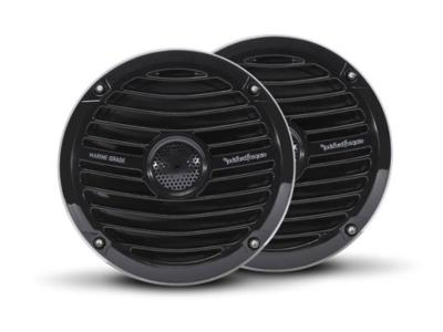 Rockford Fosgate 6.5 Inch Prime Marine Full Range Speakers in Black - RM1652B