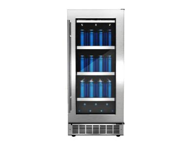 """15"""" Silhouette Piedmont Single Zone Beverage Center - DBC031D4BSSPR"""